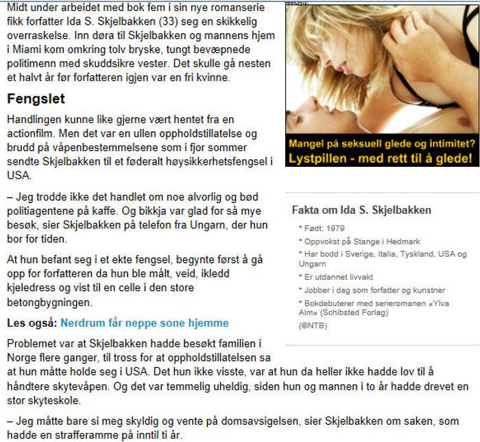 Abc-nyheter | Illustratør og forfatter Ida Skjelbakken