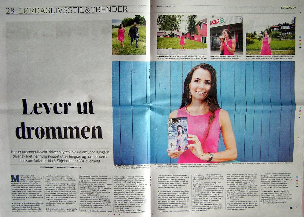 Hamar Arbeiderblad Ida Skjelbakken
