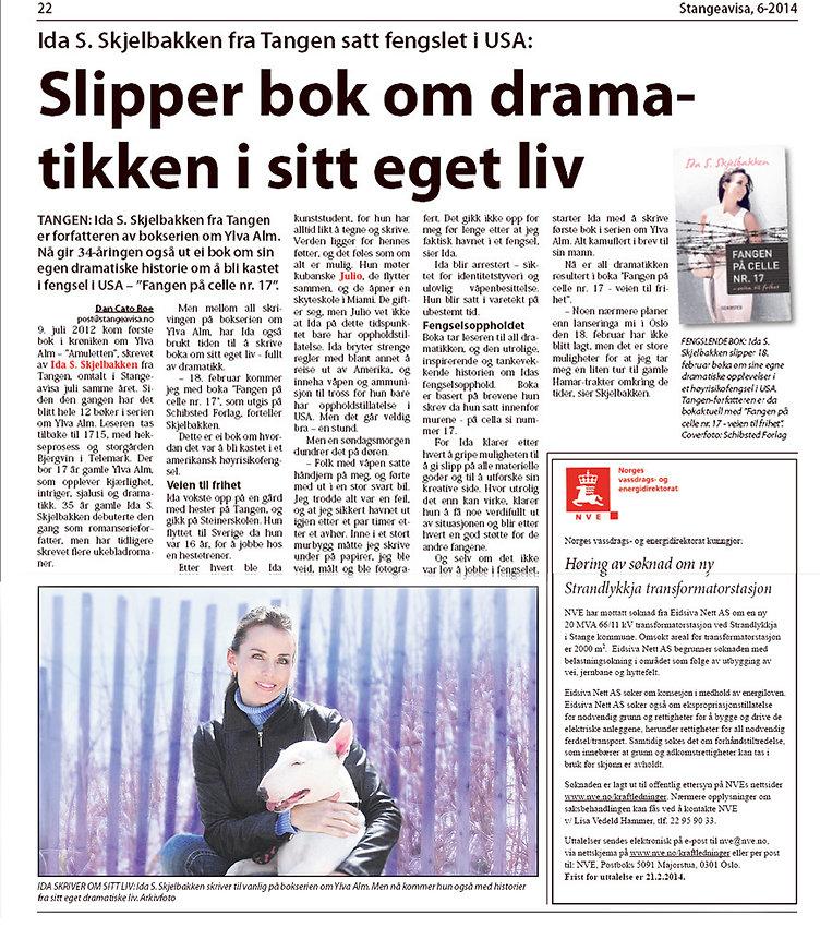 Ida Skjelbakken fengsel