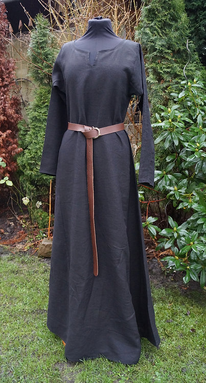 Leinenkleid Haithabu schwarz