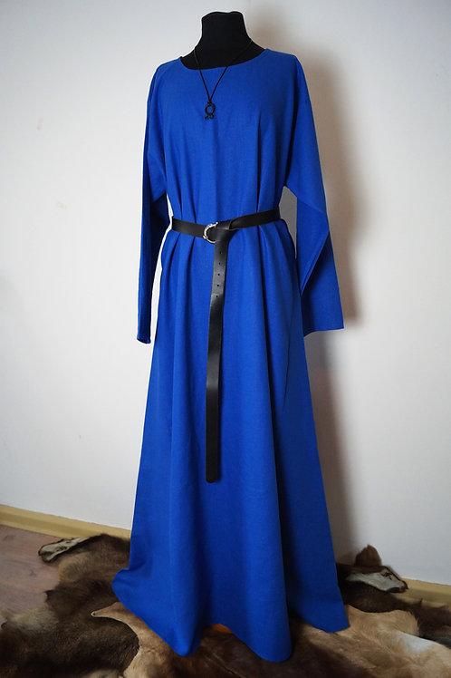 Leinenkleid königsblau