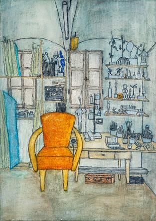 Atelier mit Sessel