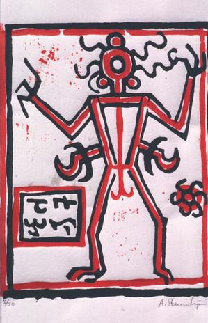 Figur des Medizinmannes 1