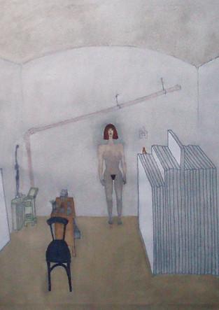 Judith im Atelier