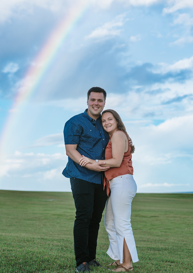 It was just the perfect day for a surprise engagement!