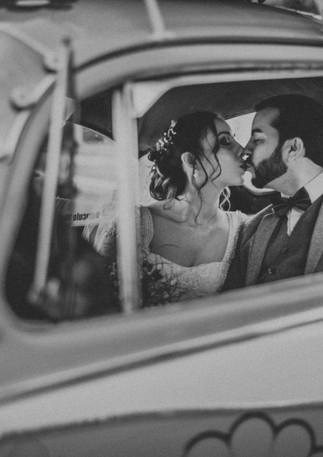 Backseat kiss