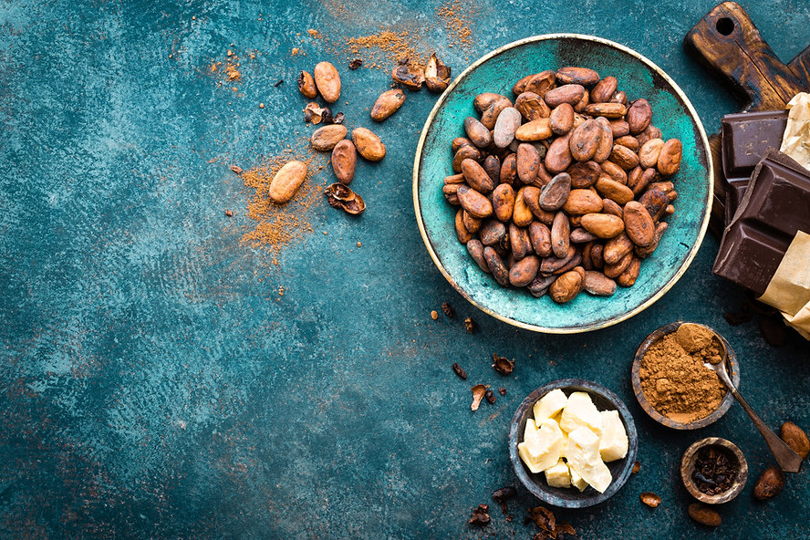 Cacao Beans and Butter e The Kindred Cau