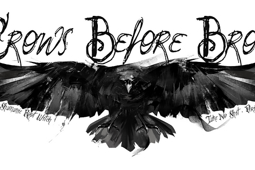 Crows Before Bros Sticker
