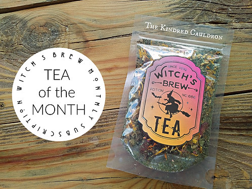 Witch's Brew Tea of the Month (TOTM)