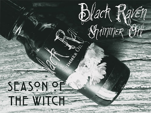 Black Raven Shimmer Body Oil