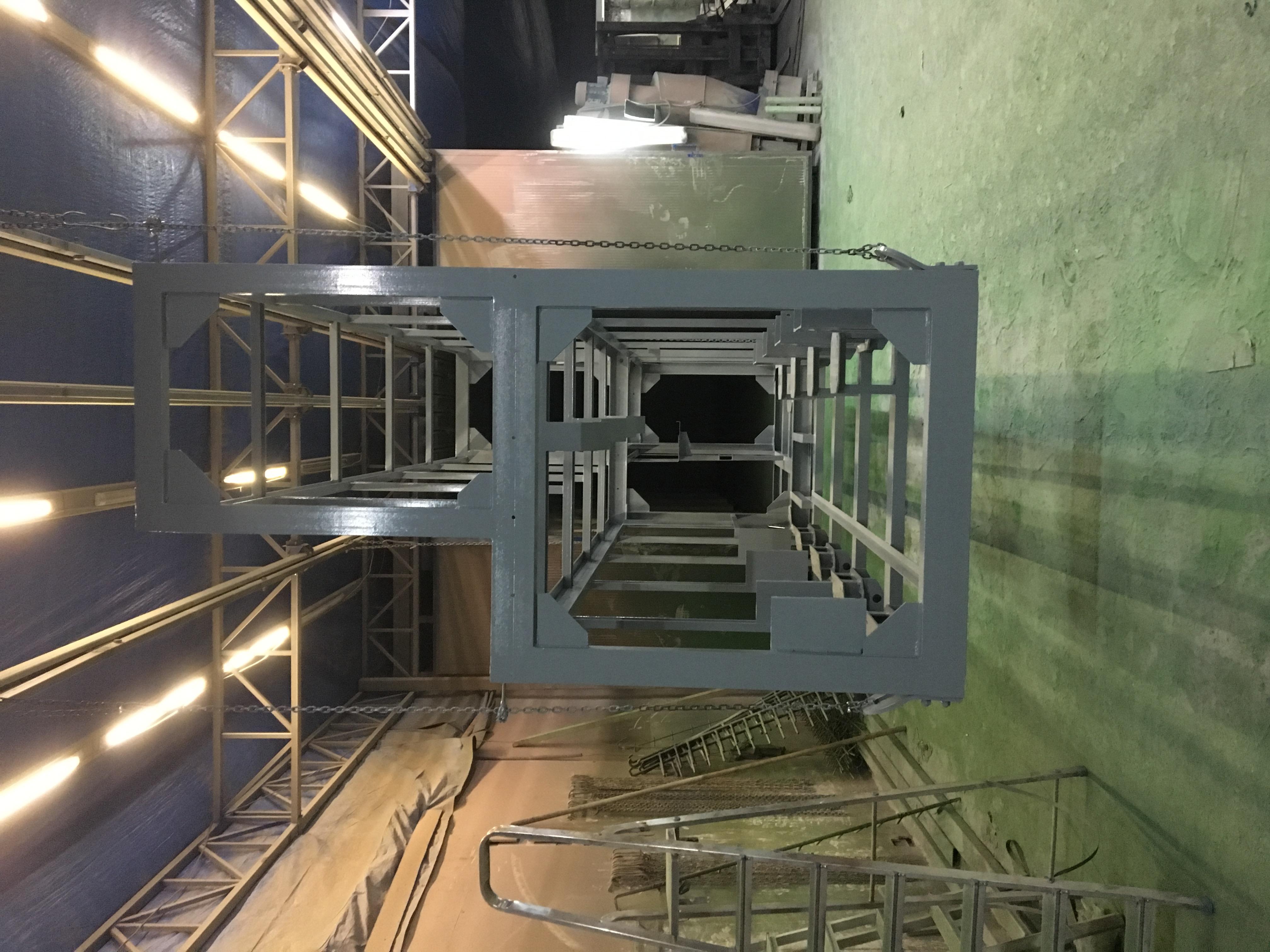 Крупногабаритное металлоконструкция