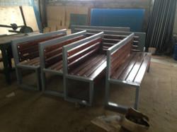 Изготовление скамейки
