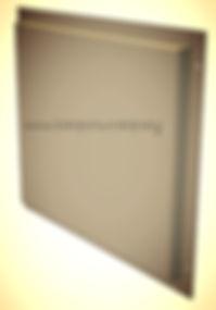 Фасадные кассеты открытого крепления из оцинкованной стали с нанесением полимерной краски
