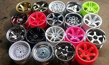 Покраска автомобильных дисков в любой цвет по шкале RAL
