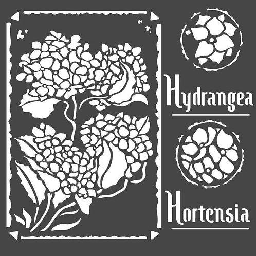Stamperia~Hortensia Stencil