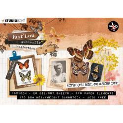 Butterfly die cut book