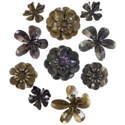 Finnabair Metal Blooms, 10/Pkg