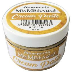 Stamperia Metallic Cream Paste 150ml Gold