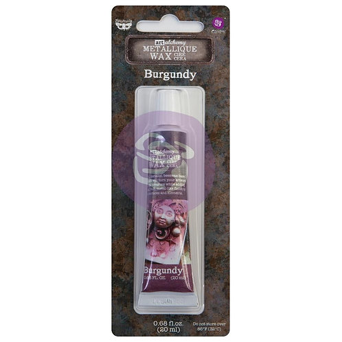 Finnabair Art Alchemy Metallique Wax~Burgandy