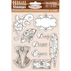 "Stamperia Cling Rubber Stamp 5.5""X7"" Princess"