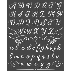 Alphabet, Calligraphy
