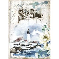 Sea Dream Sea Shore, Romantic Lighthouse