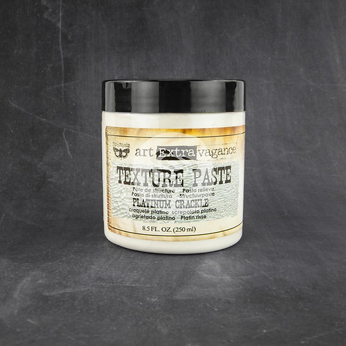 Finnabair Art Extravagance Texture Paste~Platinum Crackle