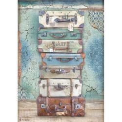 Luggage, Atelier Des Arts~Rice paper