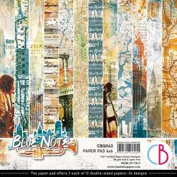 Blue Note, 12 Designs/2 Each 6 x 6