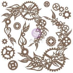 Steampunk Wreath, 13/Pkg