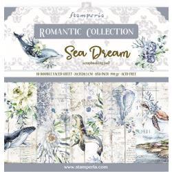 8 x 8 Romantic Sea Dream, 10 Designs/1 Each