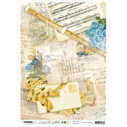NR. 02, Flute/Sheet Music/Notes