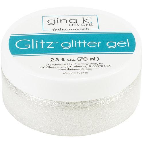 Gina K Designs Glitz Glitter Gel~White