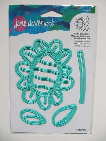 Jane Davenport~Spellbinders Sunflower Journal