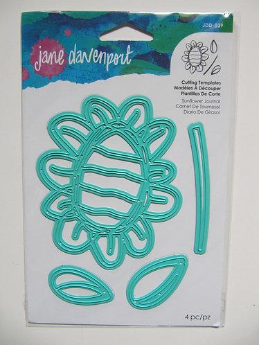 Jane Davenport~Spellbinders Sunflower Journal
