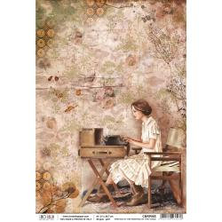Ciao Bella~Writing Is The Painting, The Muse