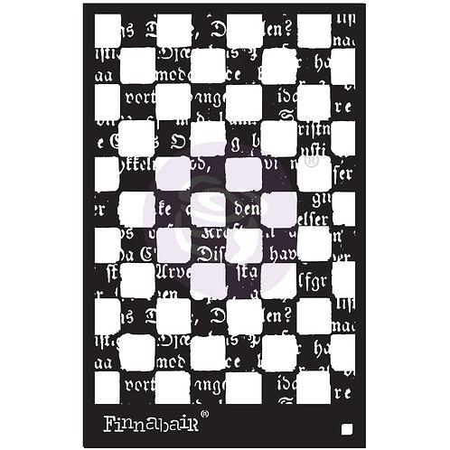 Finnabair Stencil 6 x 9~Mind Games