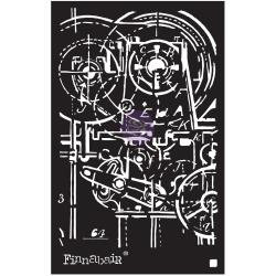 Machinery~ Finnabair Stencil