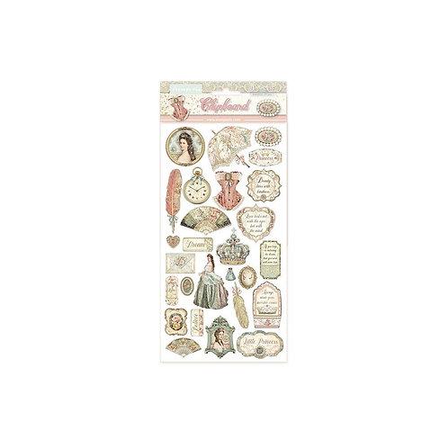 Stamperia~Princess Chipboard 6 x 12