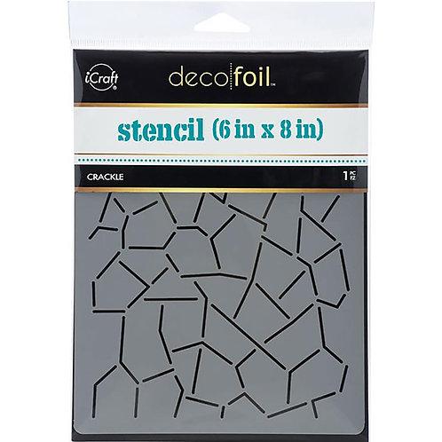 """Deco Foil Designer Stencil 6""""X8"""""""