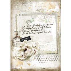 Journal Manuscript & Clock, Romantic