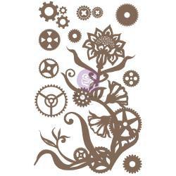 Steampunk Flowers, 13/Pkg