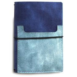 "Elizabeth Craft Traveler's Notebook 4.88""X3.5"" Jeans"