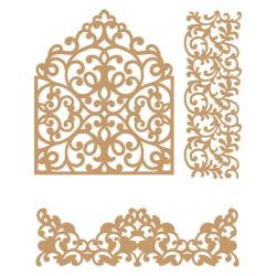 Laser Cut Chipboard In The Garden~Prima