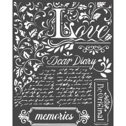 Dear Diary, Calligraphy