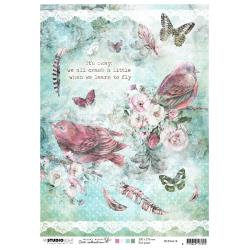 Jenine's Mindful Art 3.0 Rice Paper Sheet A4 NR. 18