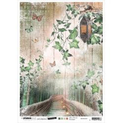 Jenine's Mindful Art Time To Relax Rice Paper Sheet A4 NR. 29