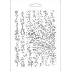 Stamperia Soft Maxi Mould A5 Oriental Garden