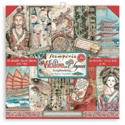 8 x 8 Sir Vagabond In Japan, 10 Designs/1 Each