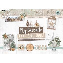 Studio Light Die-Cut Card Toppers A5 Winter Charm